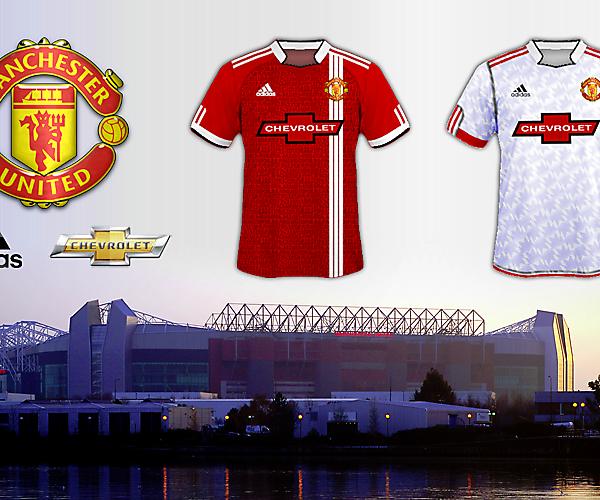 Man Utd 2015/16 Home & Away (alt sponsor)
