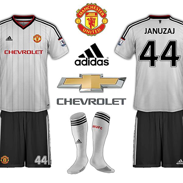 Manchester United 2015/16 Adidas Away Kit