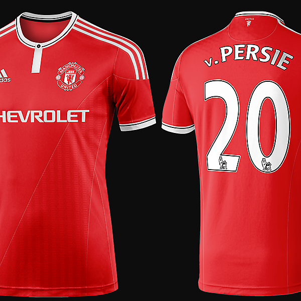 Manchester United 2015/16 Adidas Home Kit
