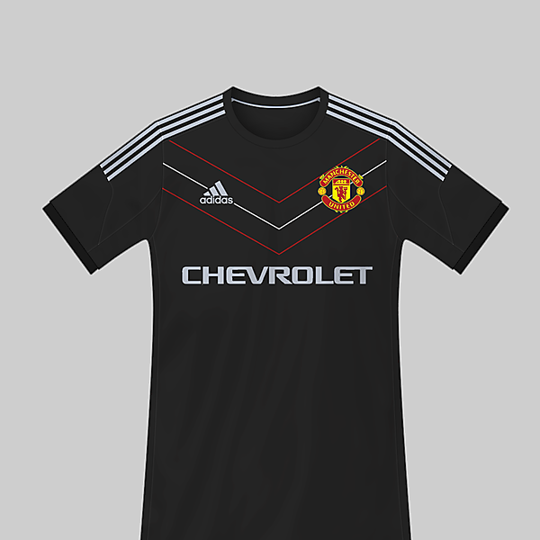 Manchester United is #allin - 2015/16 away shirt