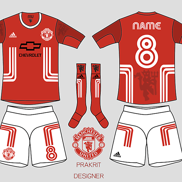 Manshester United kit 2016