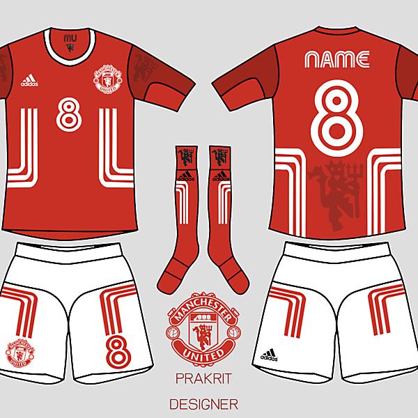 Manshester united kit 2016