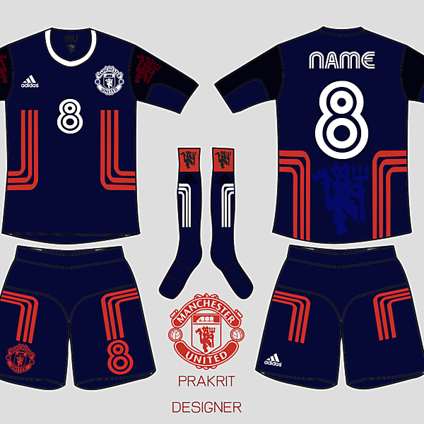 Manshester United kit away 2016