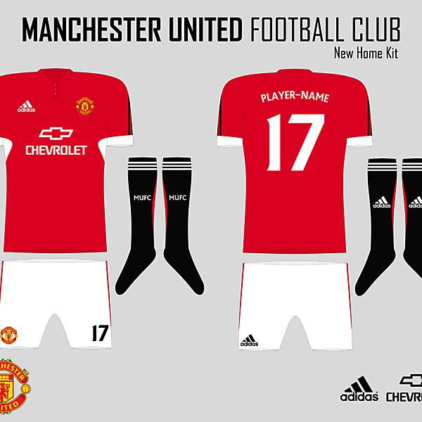 MUFC Home Kit