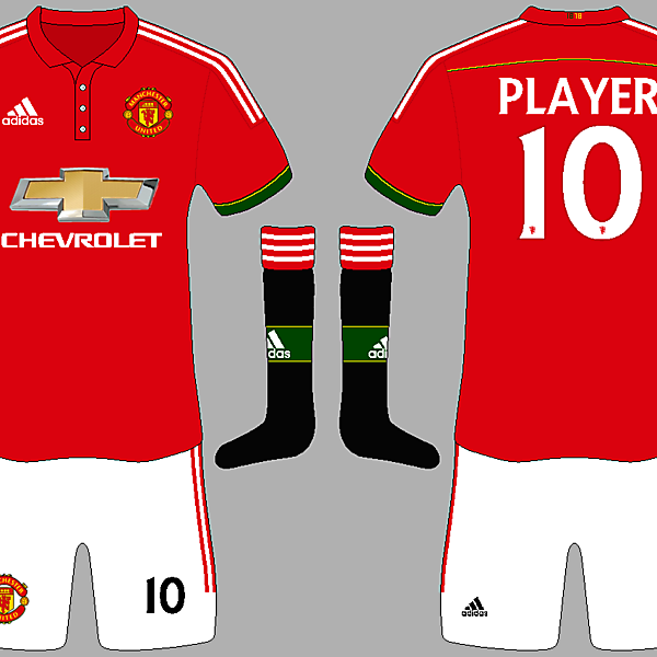 Manchester United and Adidas competition