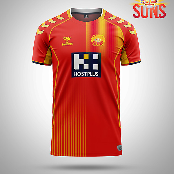 Suns AFL as a soccer shirt