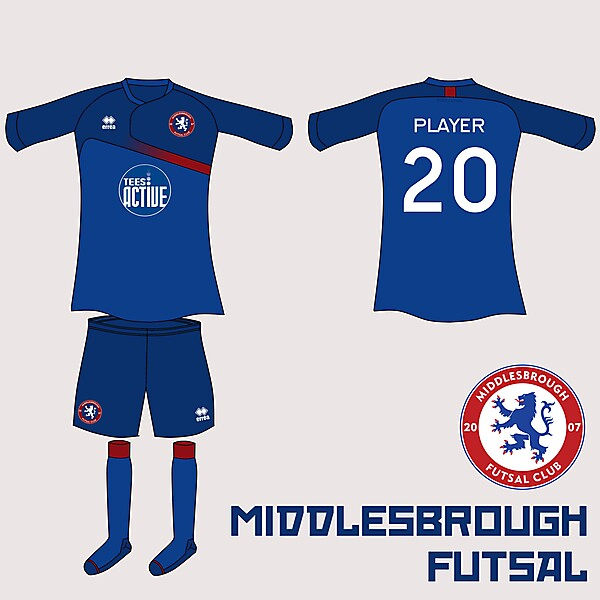 Boro Futsal Home Kit v.2