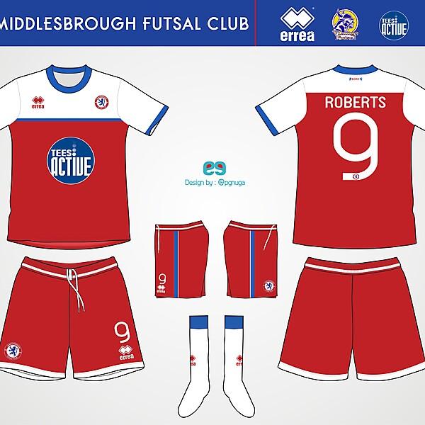 Errea Middlesbrough Futsal Club Home Kit #7