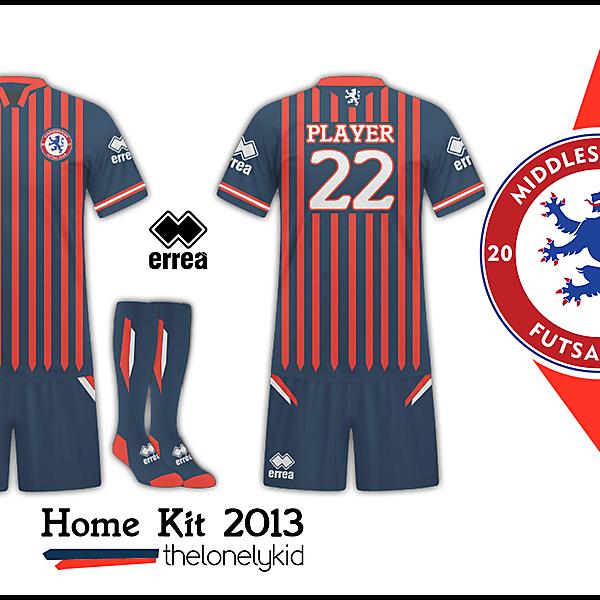 Middlesbrough Futsal-Home Kit Rayas