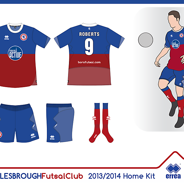 Boro Futsal Home Kit 13/14 (Seconda Proposta)