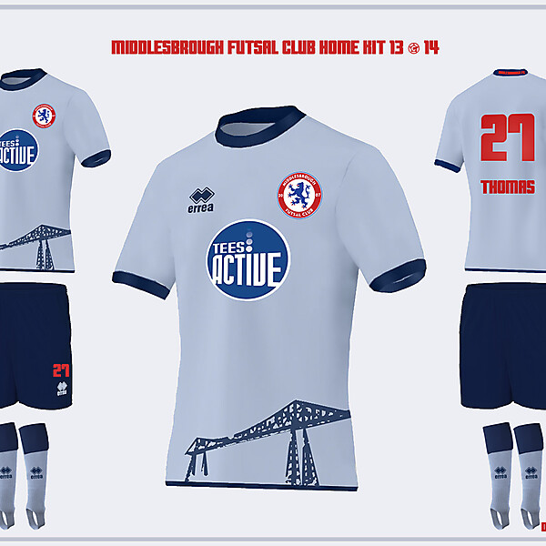 Middlesbrough Home Kit 13/14 \