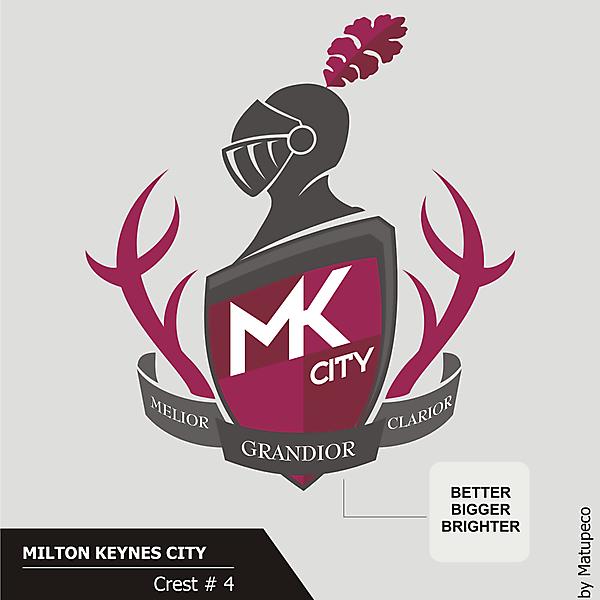 Milton Keynes City Crest version 04