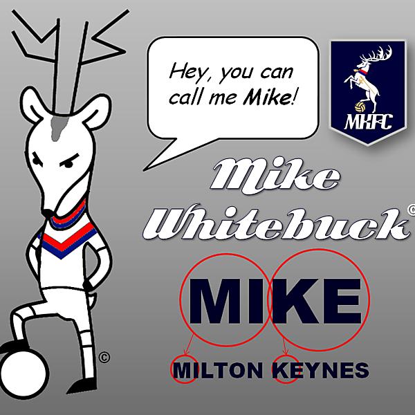 MKFC Mascot - Mike Whitebuck