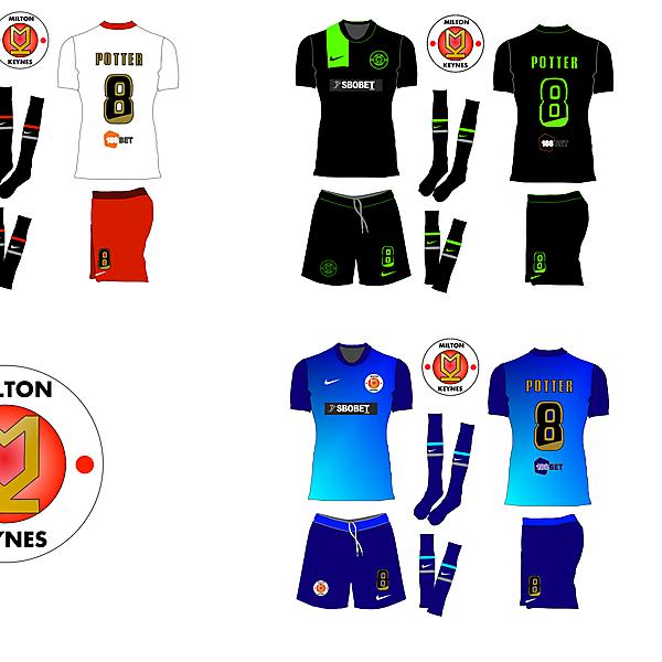 MK Dons Rebrand