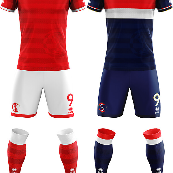 U.S.D. Classe 1974 Home and Away Kit
