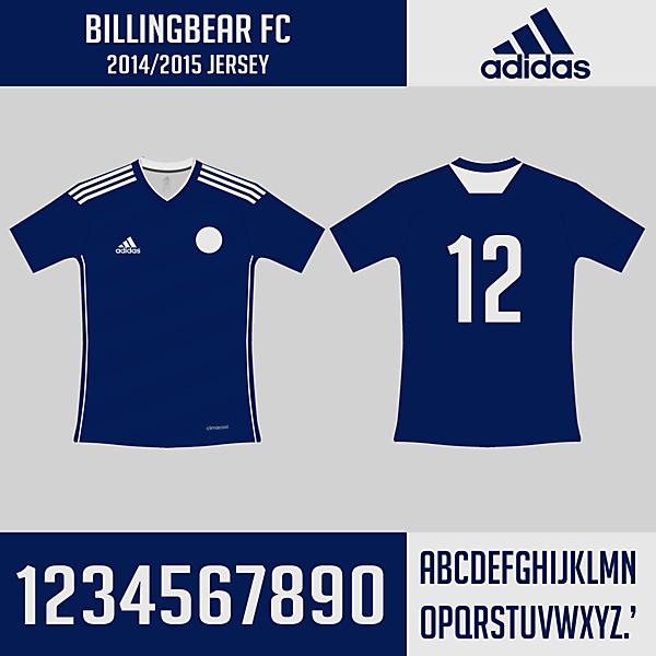 Billingbear FC Adidas Home Jersey 2