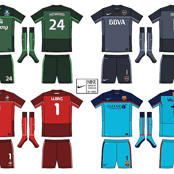 Nike Gambeta Template Goalkeepers