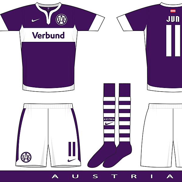 Nike Gatito template example 2 - FK Austria