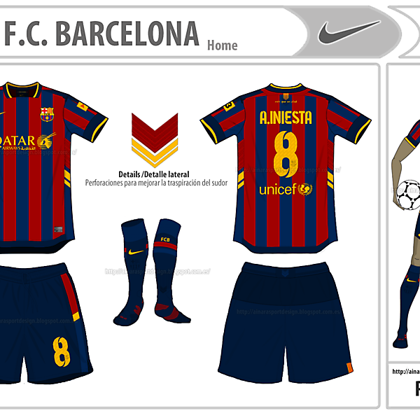 FCB Home-My Nike design
