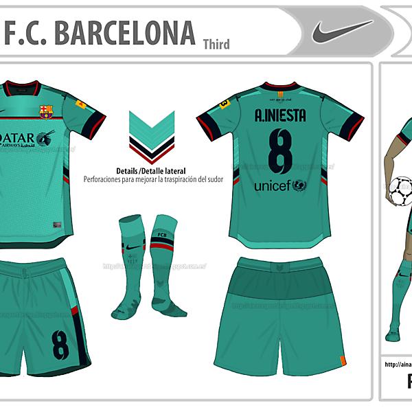 FCB Third- My Nike design