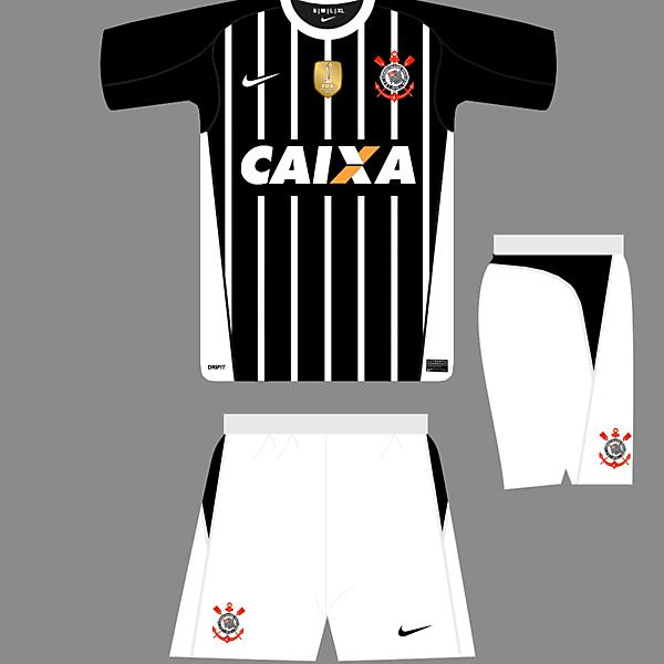 Nike C1 Template - Corinthians Away