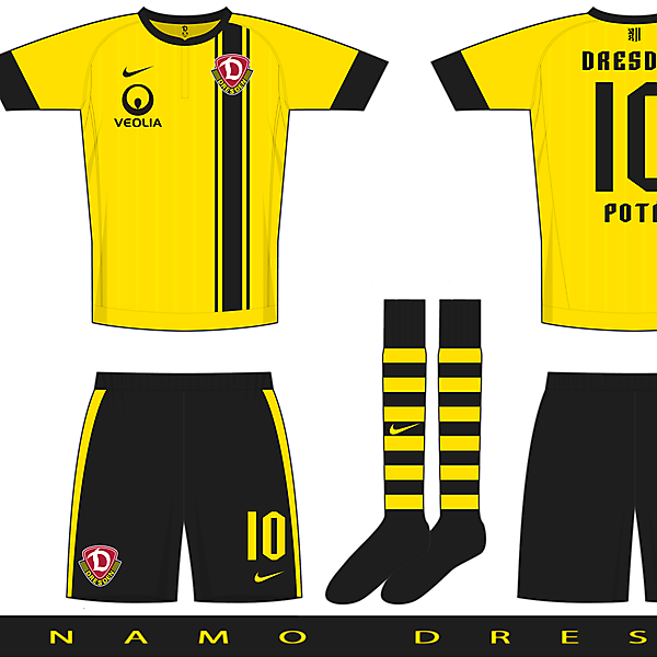 Nueva Esperanza Template - Example A - Dynamo Dresden