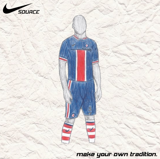 PSG Champions Home - Nike SOURCE Kit