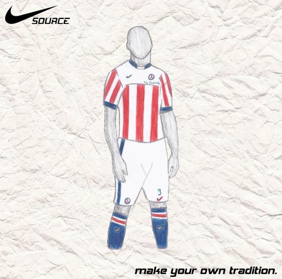 PSG Champions Away - Nike SOURCE Kit