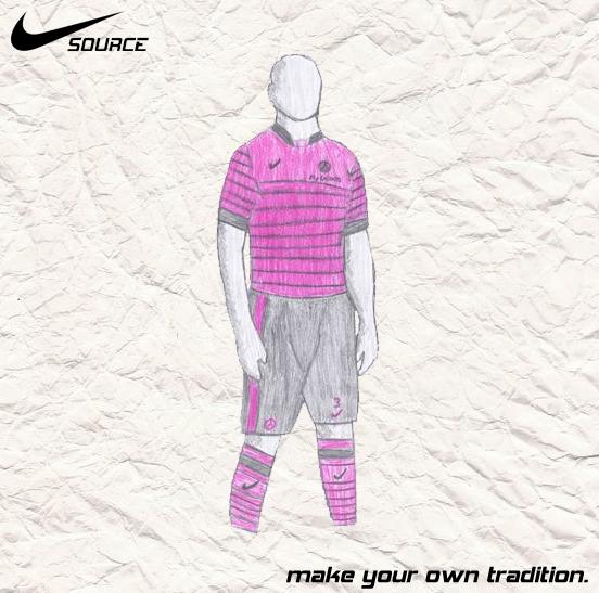 PSG Champions League 2 - Nike SOURCE Kit