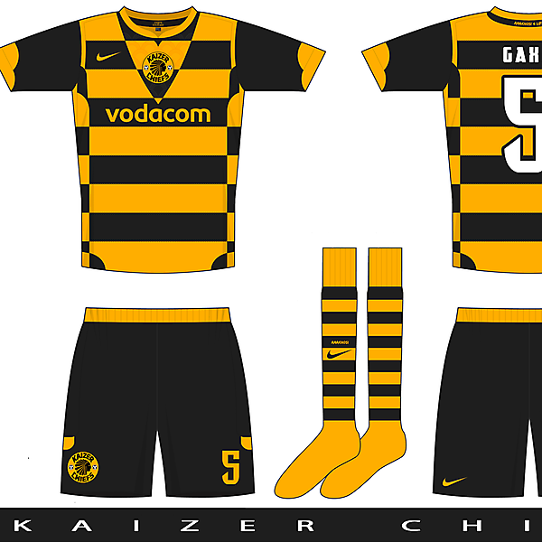 Nike Pax template example three - Kaizer Chiefs