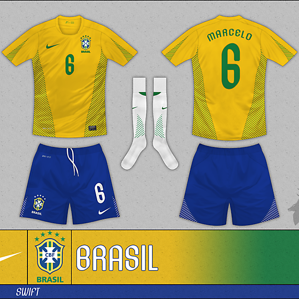 Nike Swift Plain - Brazil