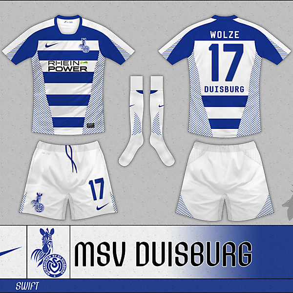 Nike Swift Hooped - MSV Duisburg