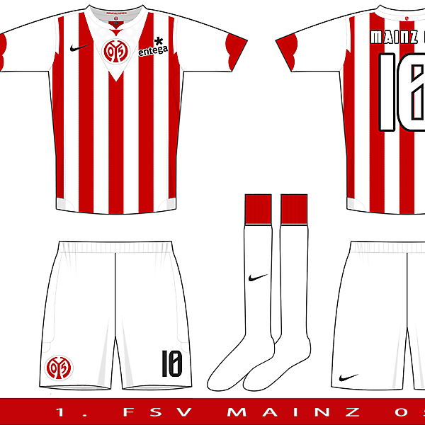 Nike Pax Template Example 1 - Mainz 05