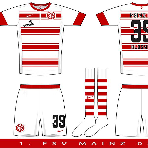 Nike Cazador Template Example 1 - Mainz 05