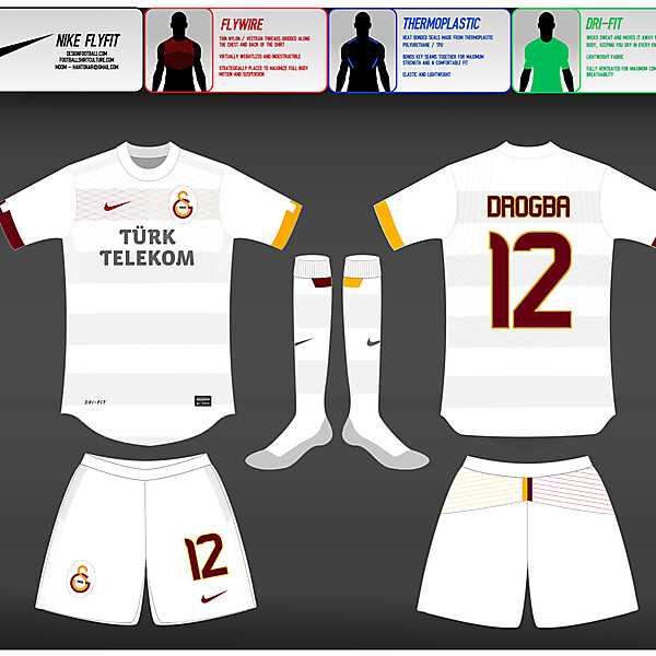 (2) Nike Fly-Fit : Galatasaray