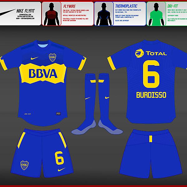 (2) Nike Fly-Fit  : Boca Juniors