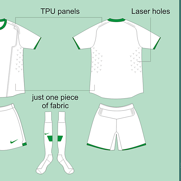 Nike Template Fiera - Basic