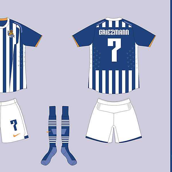 Nike Template Fiera - Real Sociedad