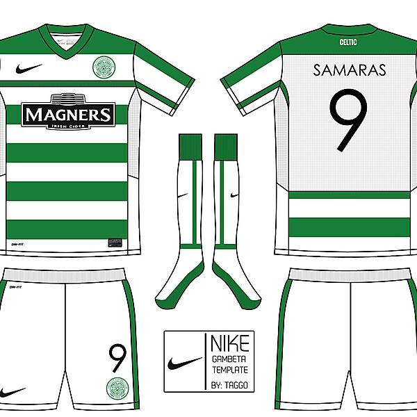 Nike Gambeta Template: Celtic