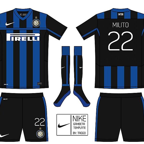 Nike Gambeta Template: Inter