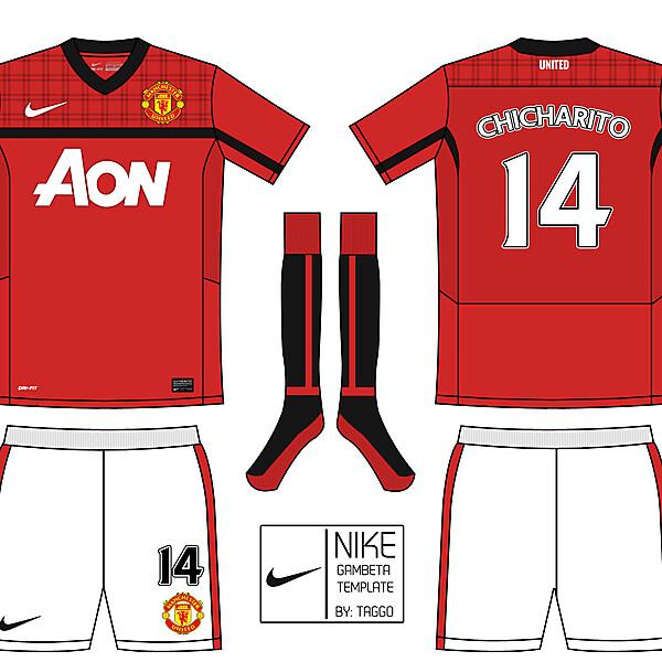 Nike Gambeta Template: Manchester United.