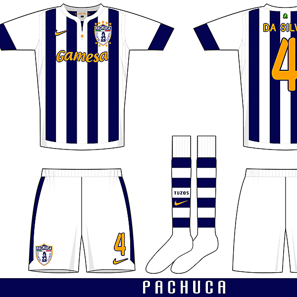 Nike Gatito template example one - Pachuca