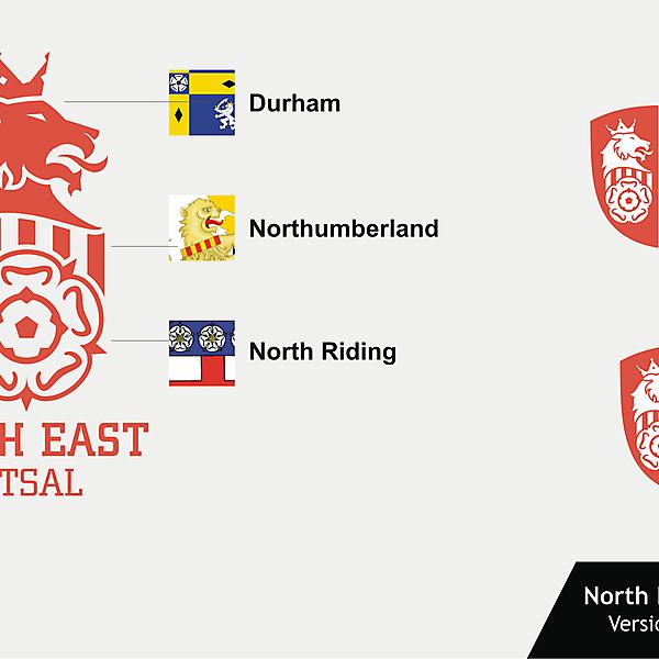 North East Futsal Crest version 02