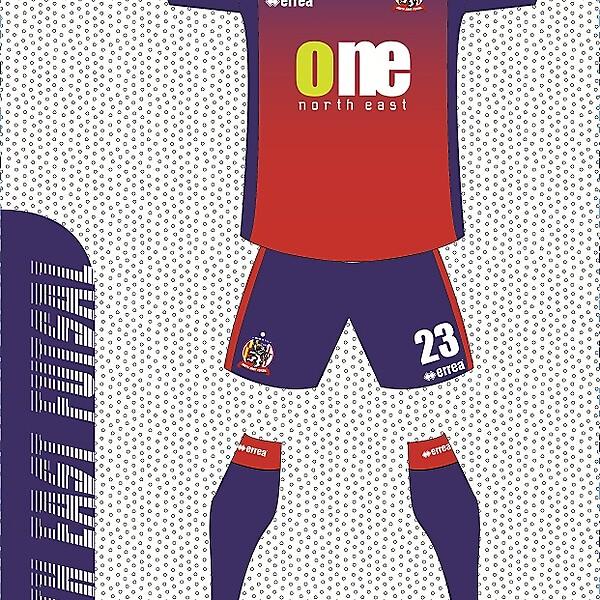 North East Futsal Crest design (closed)
