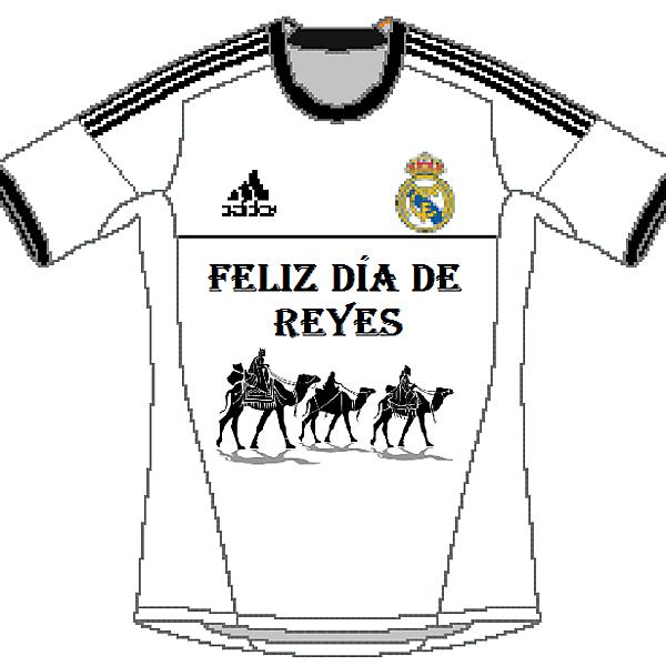 Real Madrid Biblical Magi\'s Day