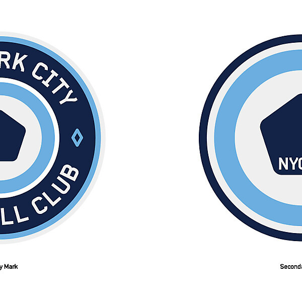 NYCFC Crests