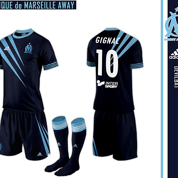 Marseille Away Adidas