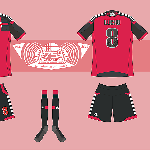 O. Marseille Away kit version 01