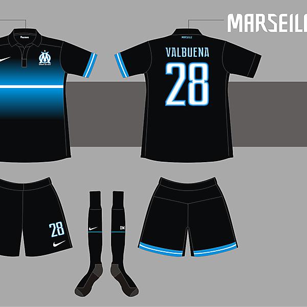 O. Marseille Away kit version 02