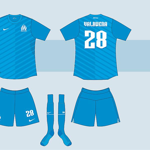 O. Marseille Away kit version 03